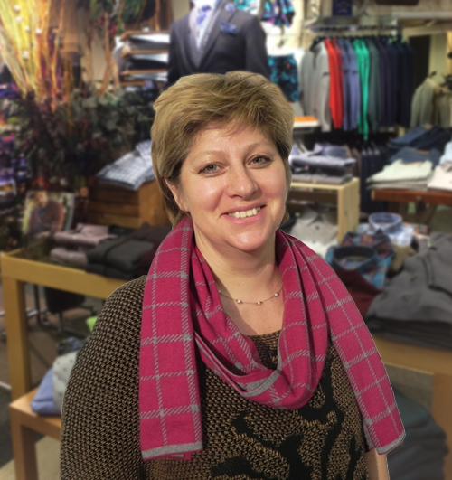 VIDA SAVICIUS •  Vida is our master tailor and seamstress. Her customers come from all over to work with her. She has been so vital to our growth at Blaine's because her attention to detail is unmatched. She sets the bar at perfection to ensure the customers feel amazing when they wear her work.