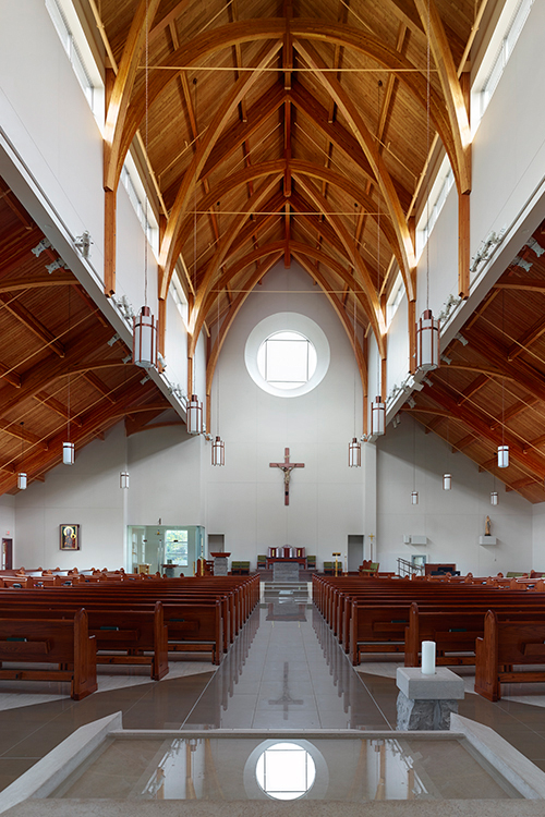 Holy Spirit Church, Barrie, ON by  Larkin Architects