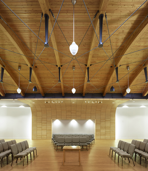 Local Church of the Saints, Toronto, ON by   C.Y. Lee Architects
