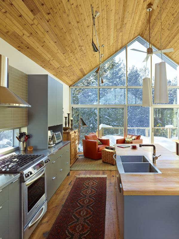 Collingwood Chalet, CS&P Architets ©Shai Gil
