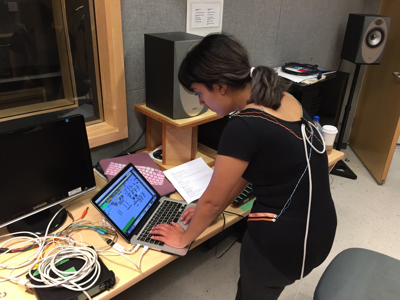 Research and development of the suit and software at the University of British Columbia's Institute for Computing, Information and Cognitive Systems (November 2016)