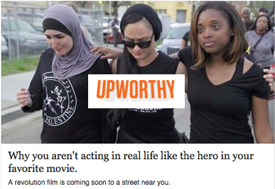 Upworthy: Why you aren't acting in real life like the hero in your favorite movie.