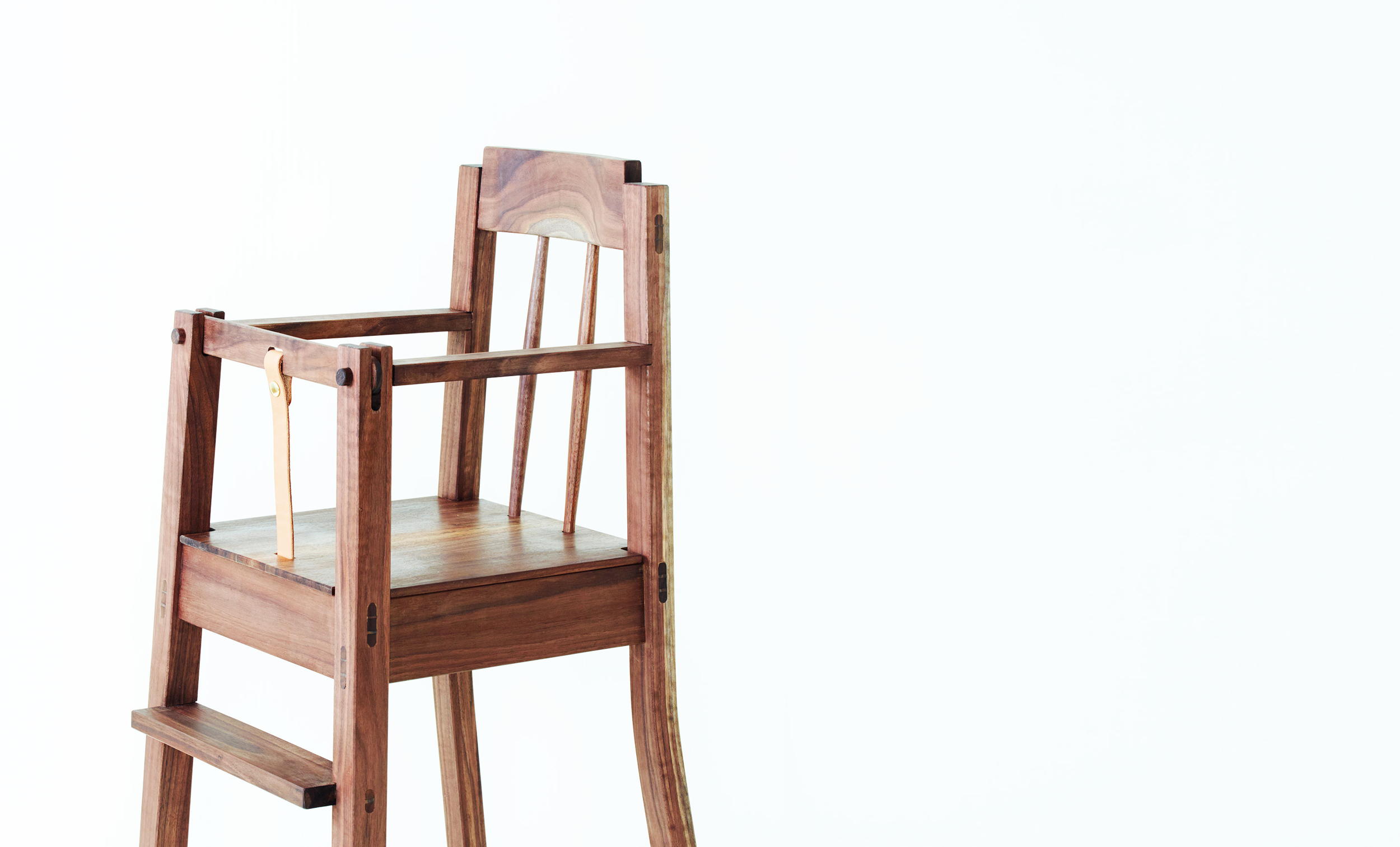 The beginning of great things.<h3>The Hudson Highchair</h3>
