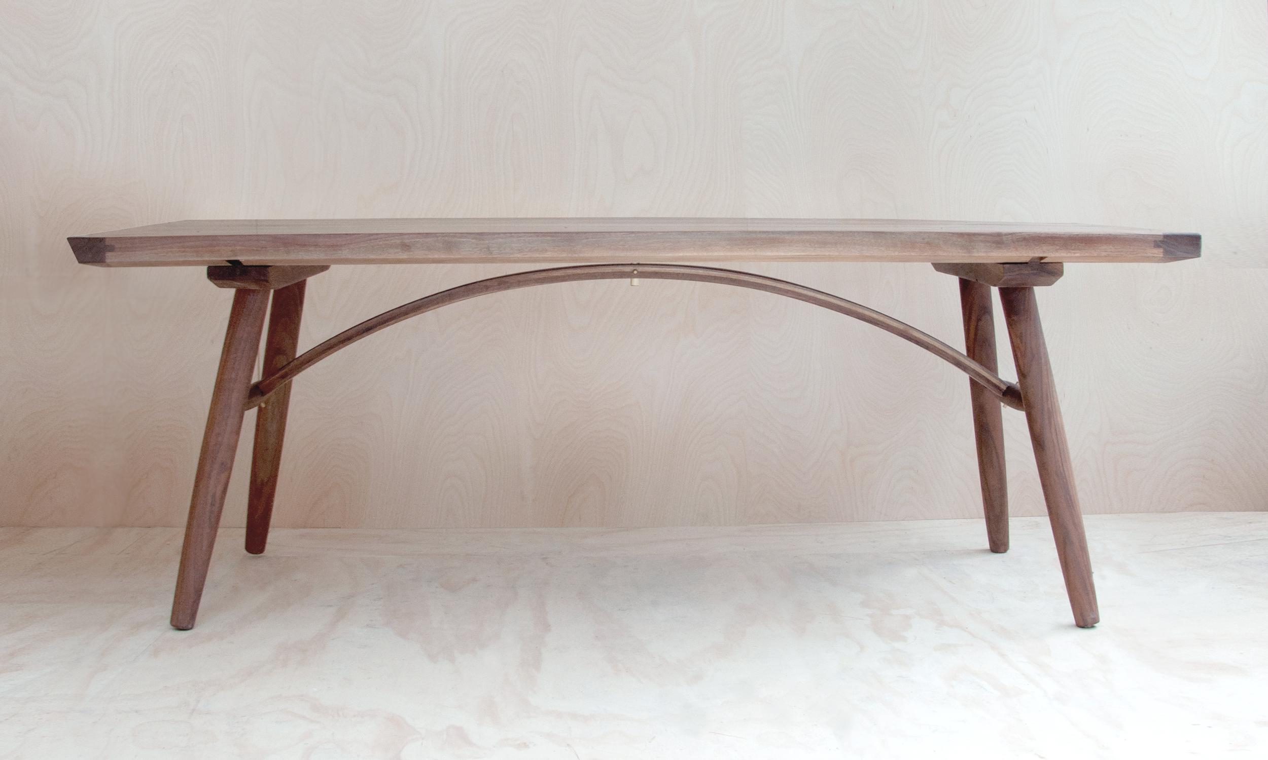 Hudson Workshop Arched Dining Table