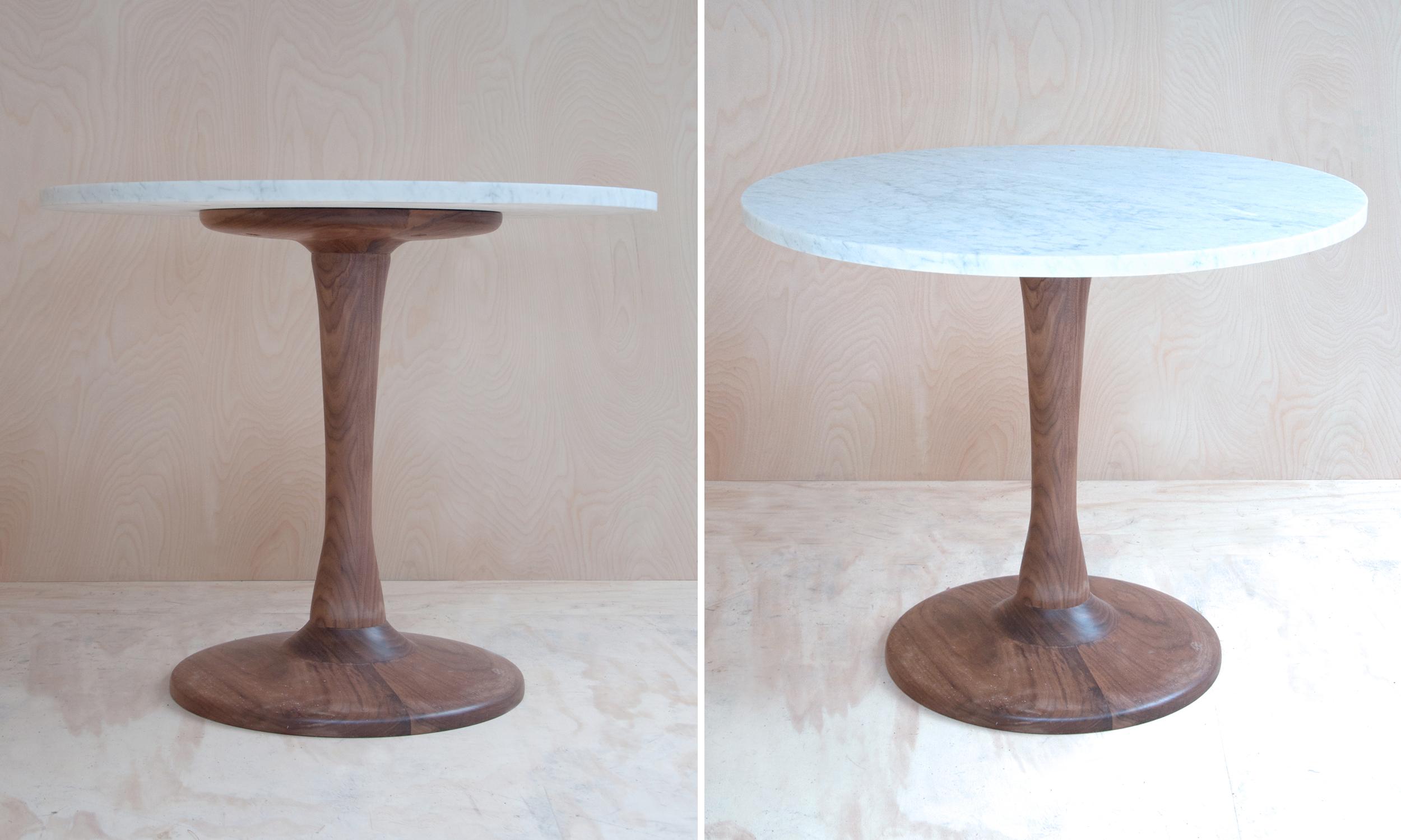 Hudson Workshop Kitchen Pedestal Table