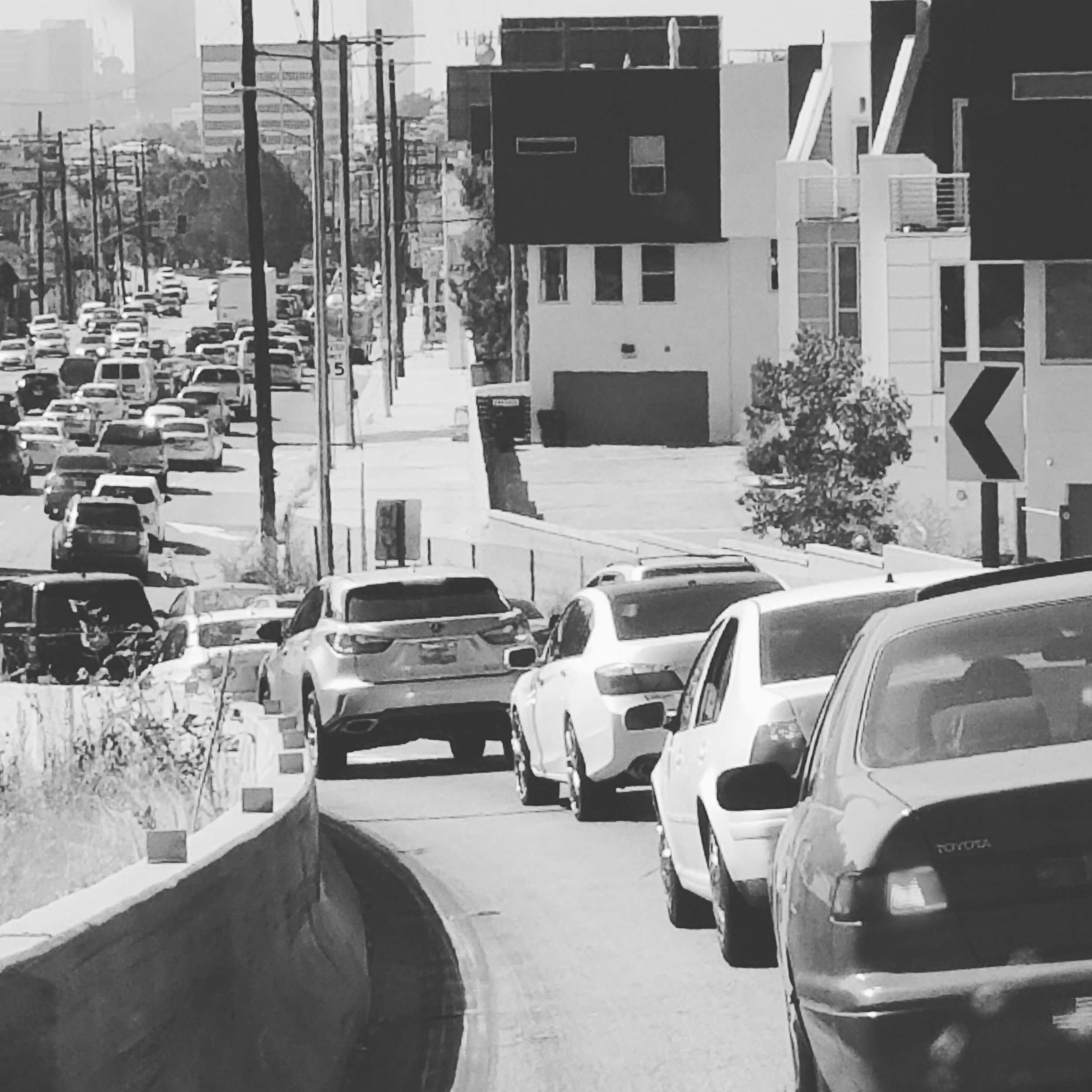 I couldn't talk about a trip to LA without mentioning the traffic! Some things never change...