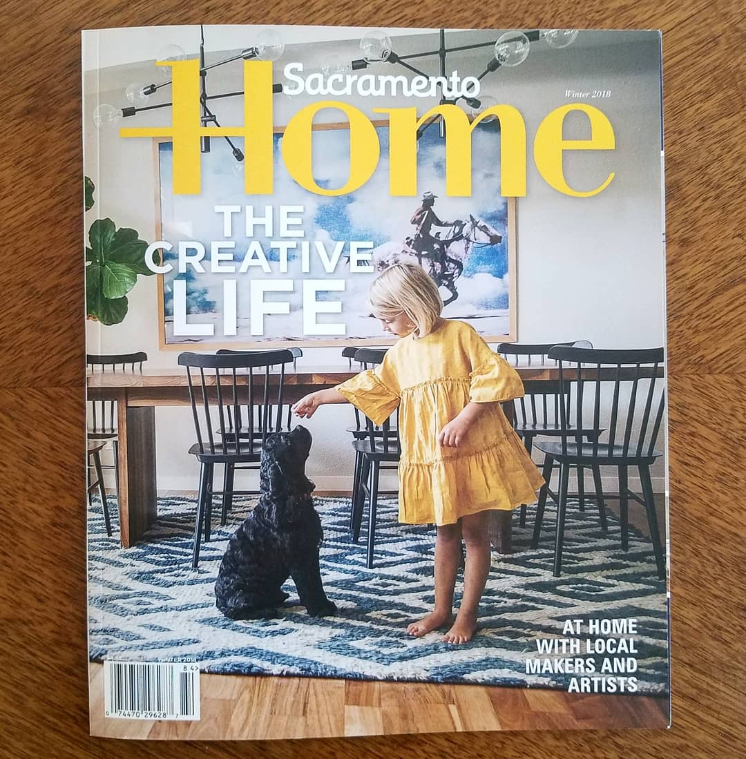 The Creative Life (with Sacramento Home Magazine) — Tula in
