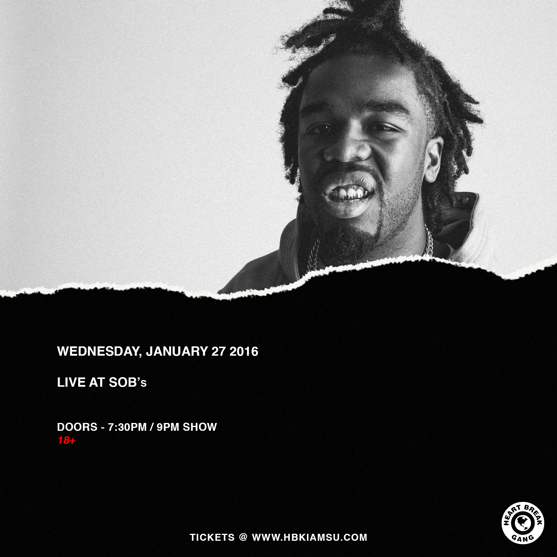 IAMSU! LIVE IN NEW YORK AT SOB'S JAN 27TH. GET TICKETS NOW!