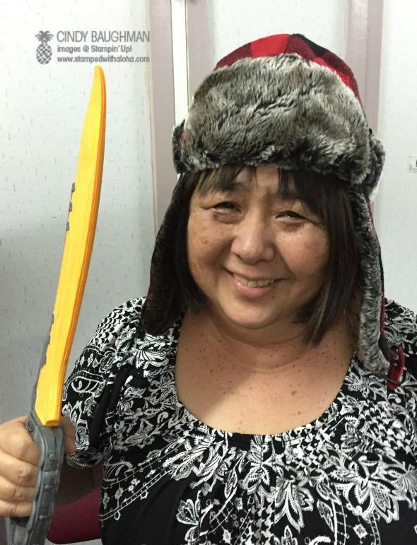 Norine and her sword