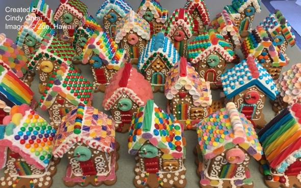 Gingerbread Houses by Zoe, Hawaii