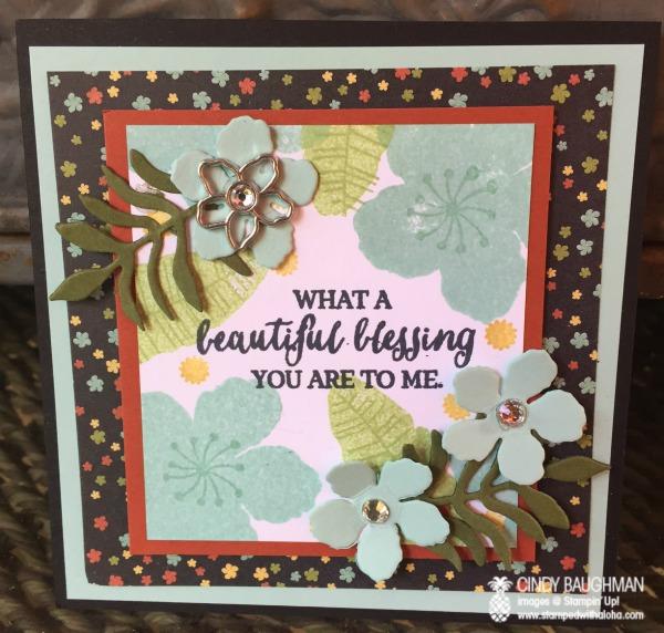 Botanical Garden Blessing Card