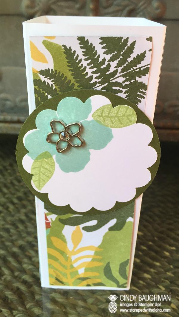 Botanical Gardens Tower Card (back)