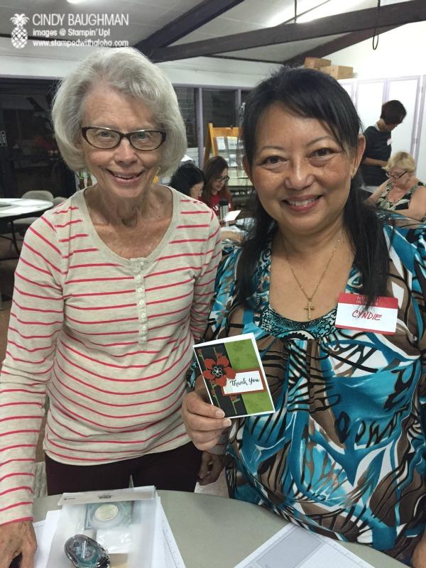 Wanda and Cyndie at Inspiration Night