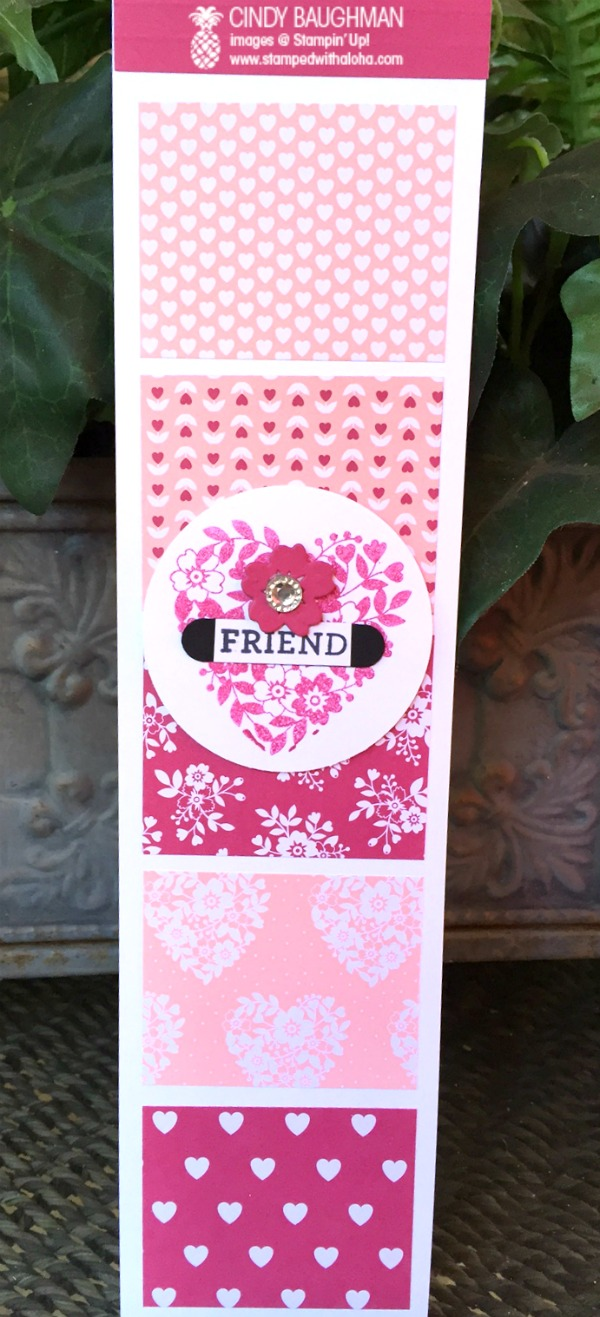 Love Blossoms Long Note Pad