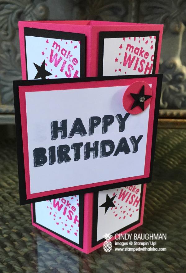 Make A Wish Tower Card