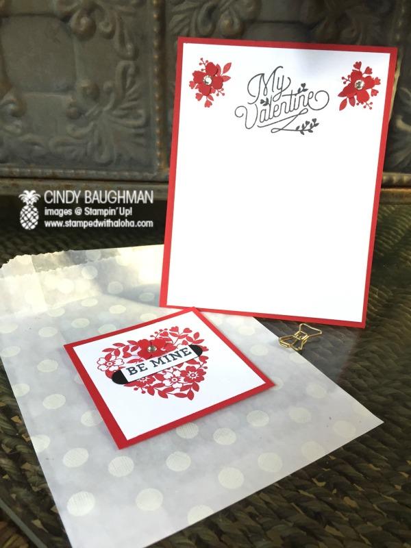 Love Blossoms Valentine Card