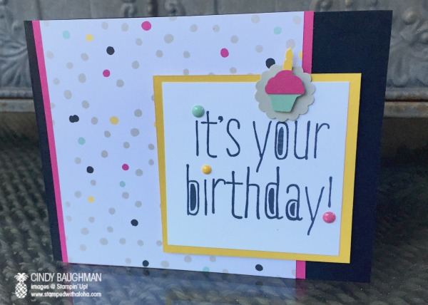 Big News Birthday Card
