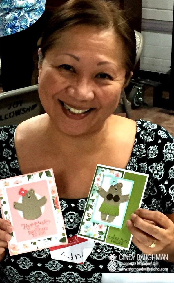 Edna and her Bear Hugs Creations