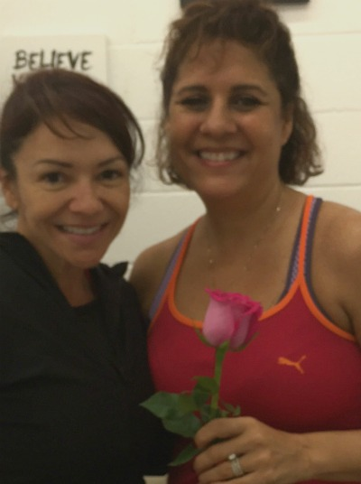 Heather and Cindy at Egan's Fit Body Bootcamp