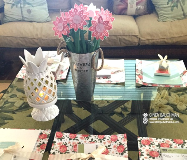 Cindy's March Bloomin' Bunco Night