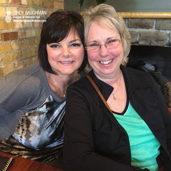Kim and Linda - www.stampedwithaloha.com