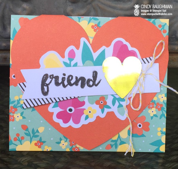 Oh Happy Day Kit Card - www.stampedwithaloha.com