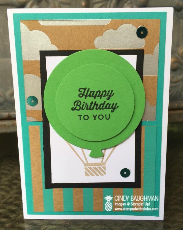 I'm bringing birthdays back - stampedwithaloha.com