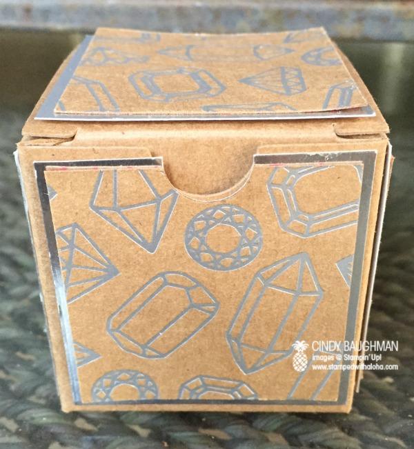 Shine On Treat Box -www.stampedwithaloha.com