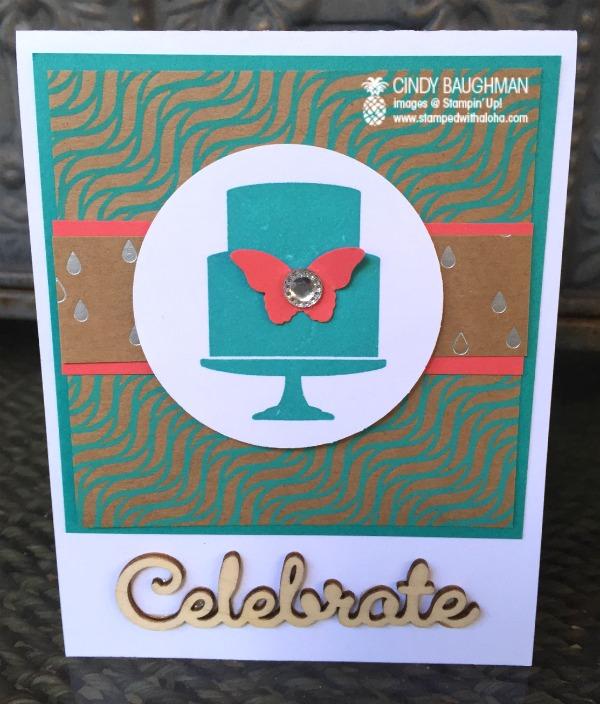 Shine On Celebrate Gift Card Holder -www.stampedwithaloha.com