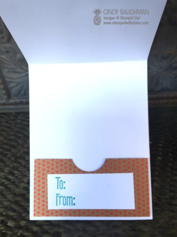 Celebrate Card (inside) -www.stampedwithaloha.com