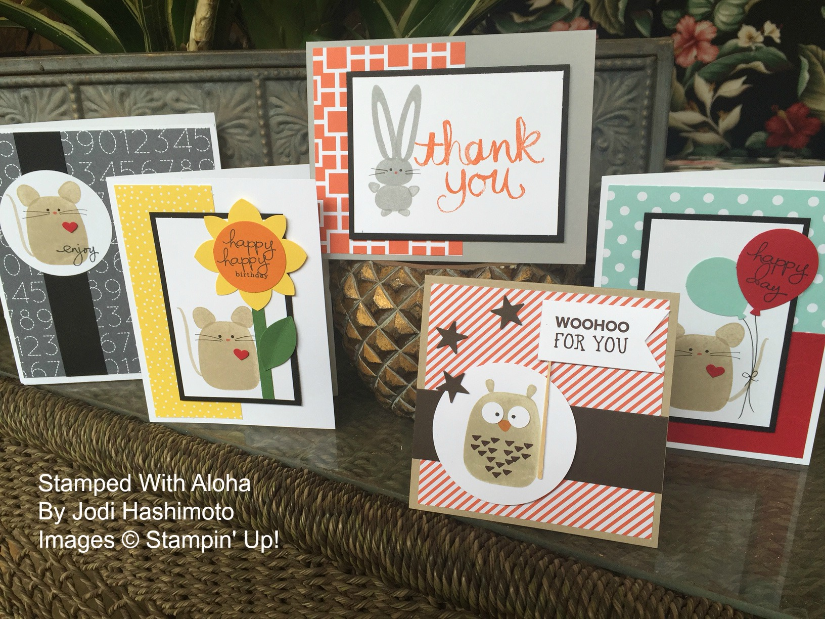 Stamped With Aloha May Inspiration Night Projects