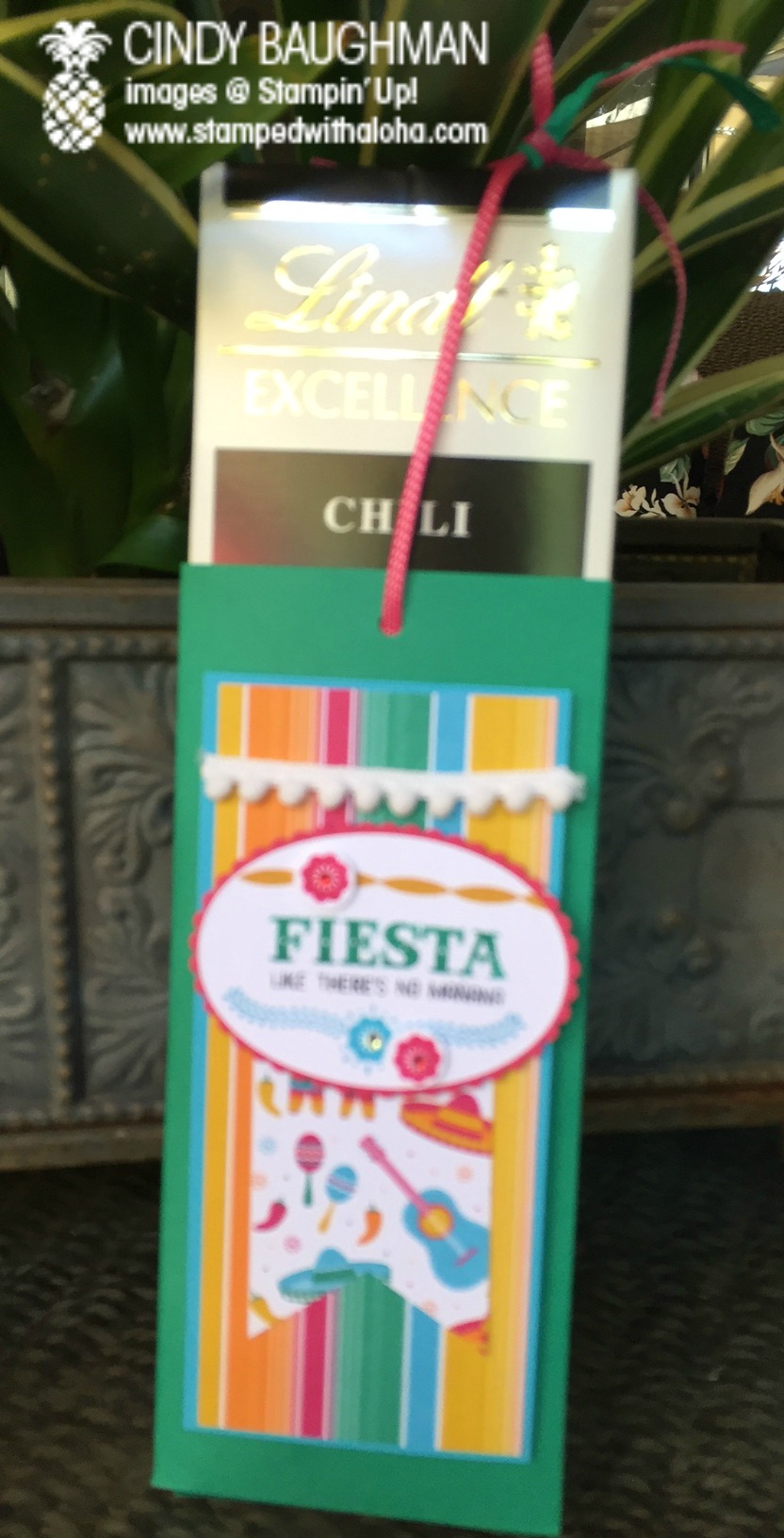 Inside of Fiesta Aloha Prize - www.stampedwithaloha.com