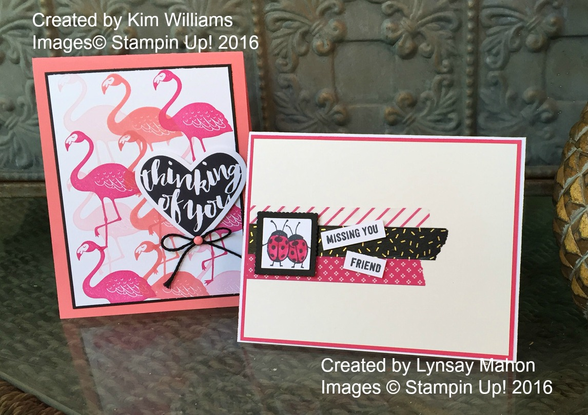 Pretty IN Pink Happy Mail - www.stampedwithaloha.com