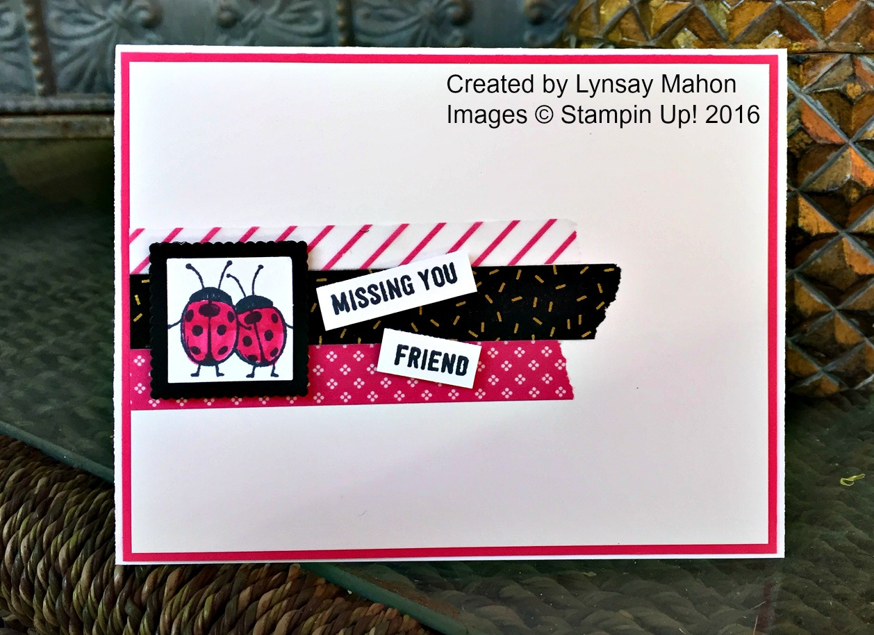 Love You Lots Card - www.stampedwithaloha.com