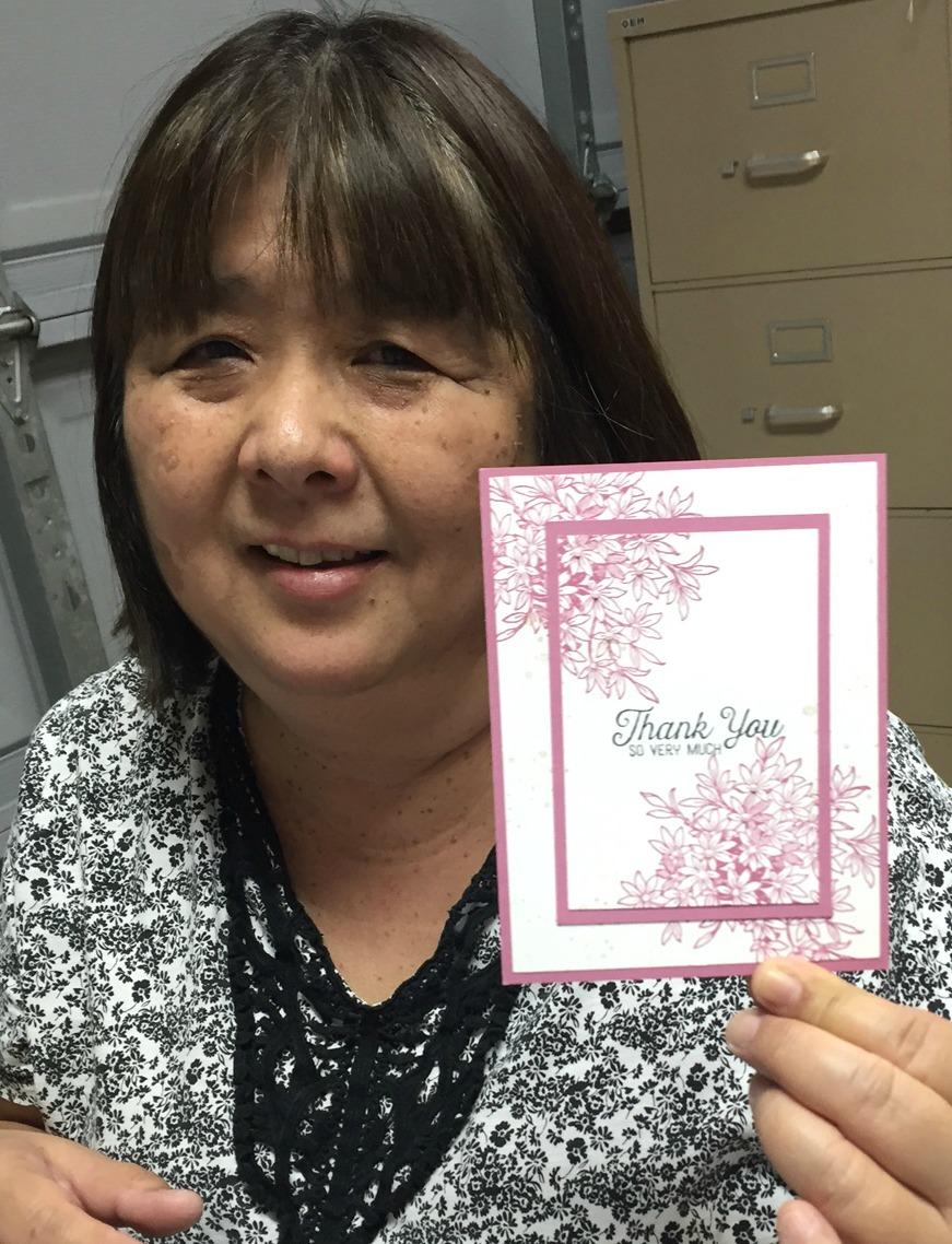 Norine's Thank You card