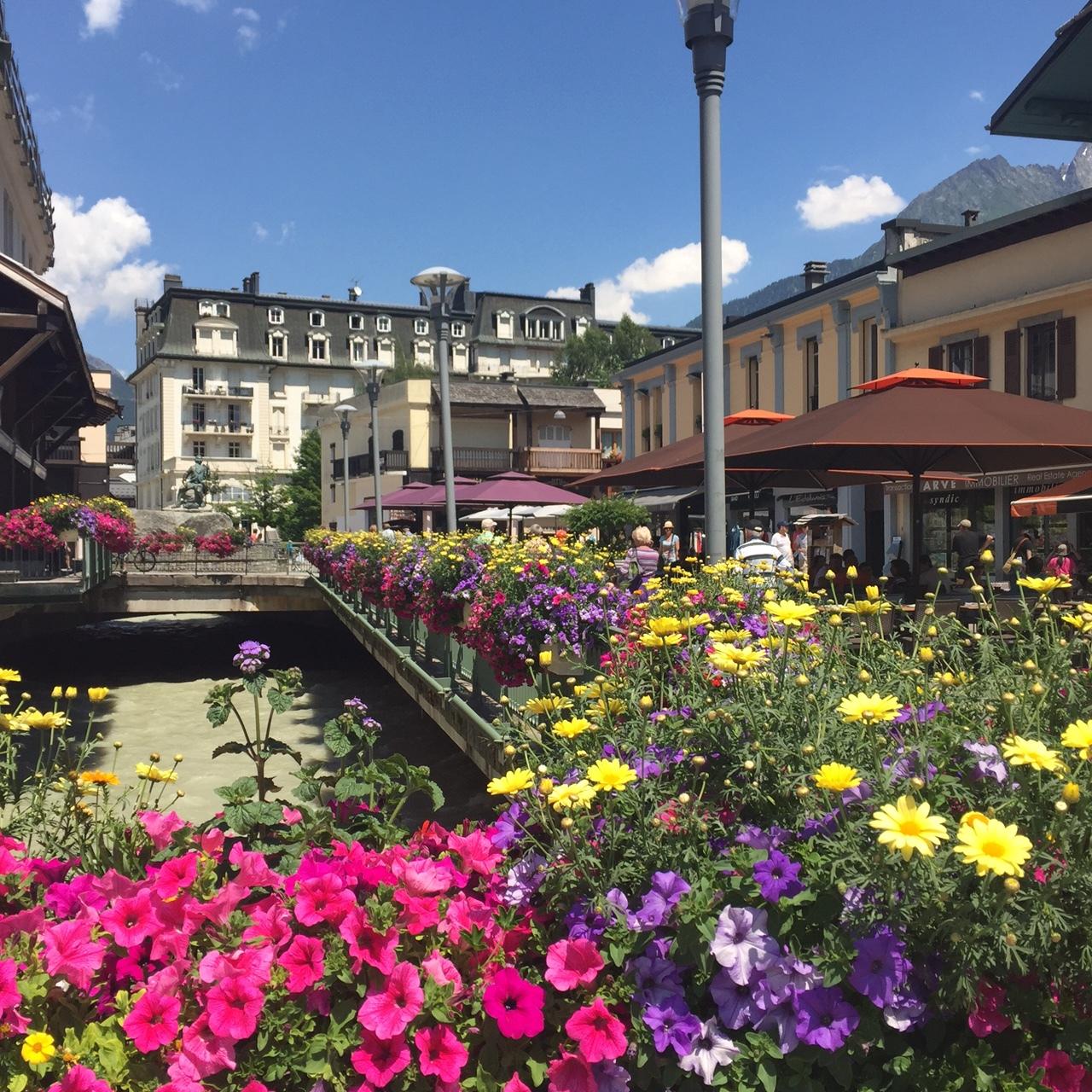 Beautiful Chamonix, France - www.stampedwithaloha.com