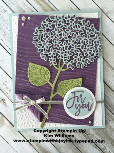 Kim's Thoughtful Branches Card - www.stampedwithaloha.com