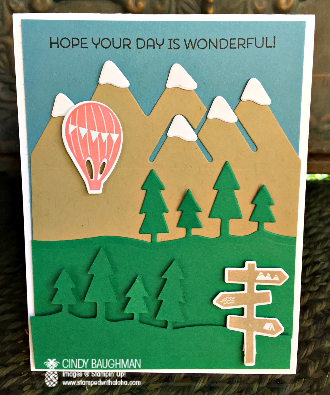Always an Adventure card - www.stampedwithaloha.com