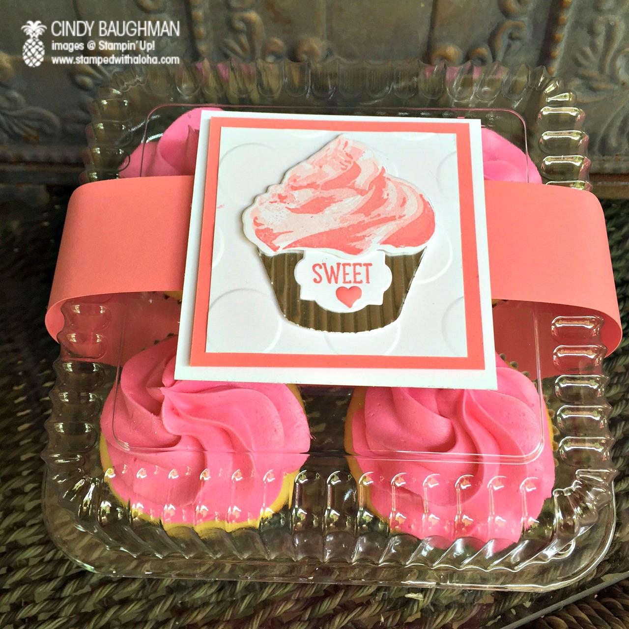 Charney's Cupcakes and Treats, Aloha Prize - www.stampedwithaloha.com