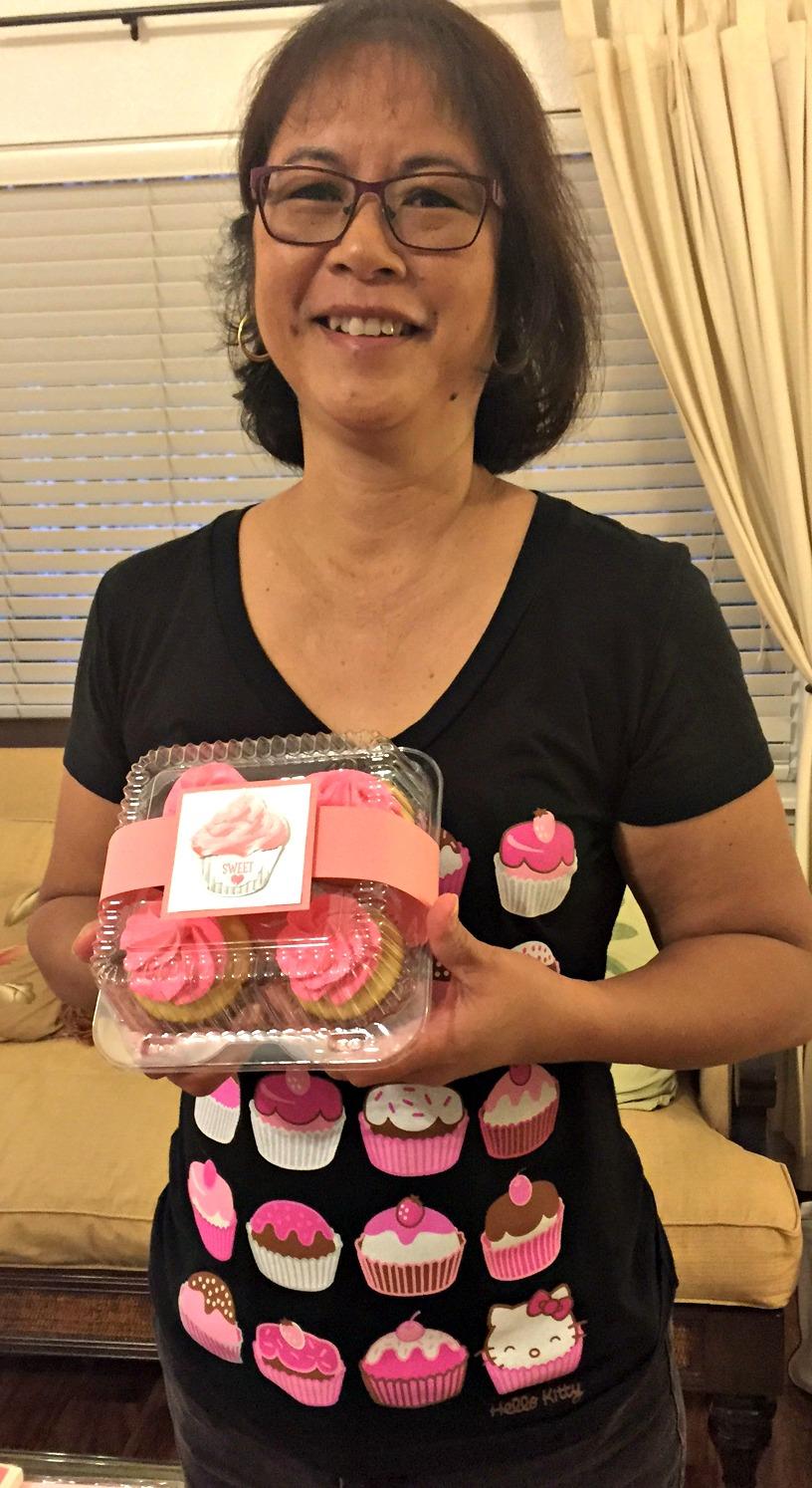 Cute as a Cupcake - www.stampedwithaloha.com