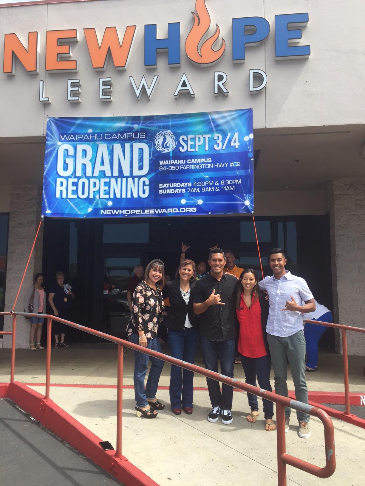 New Hope Leeward Grand Re-Opening Weekend - www.stampedwithaloha.com