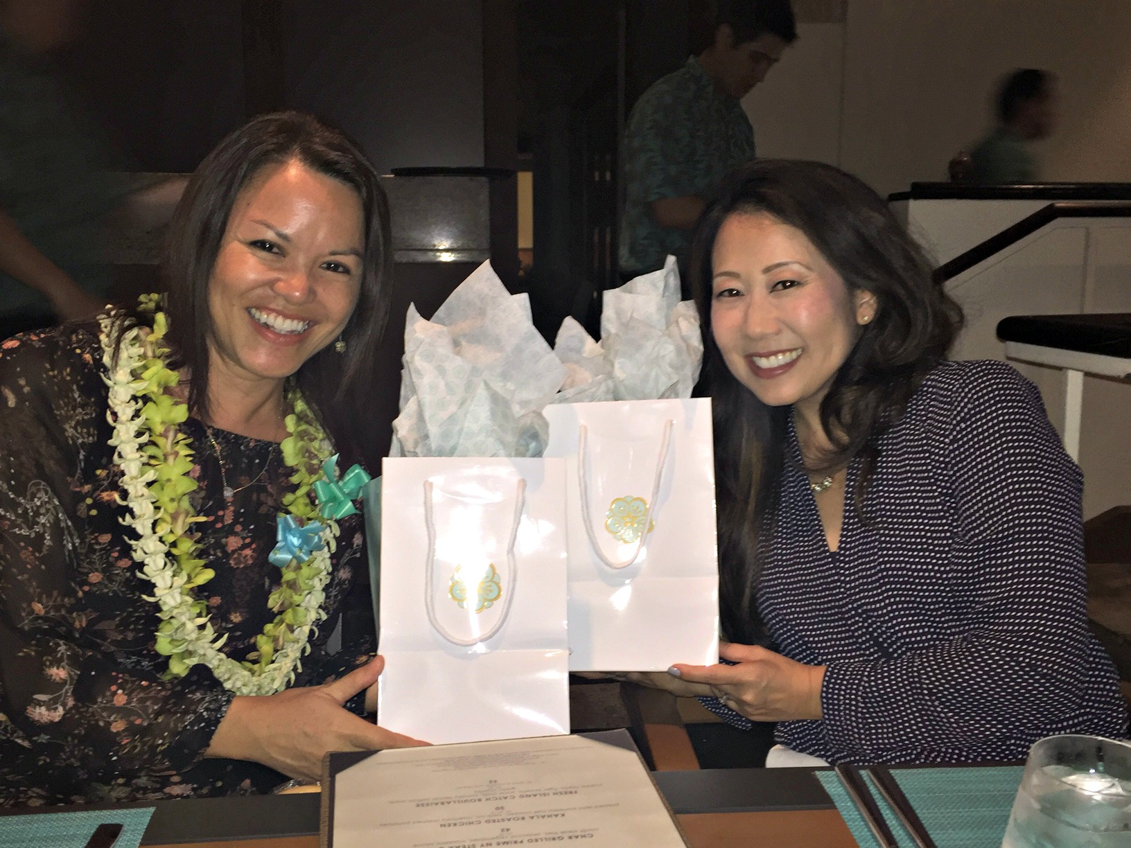 Gift bags from Jay - www.stampedwithaloha.com