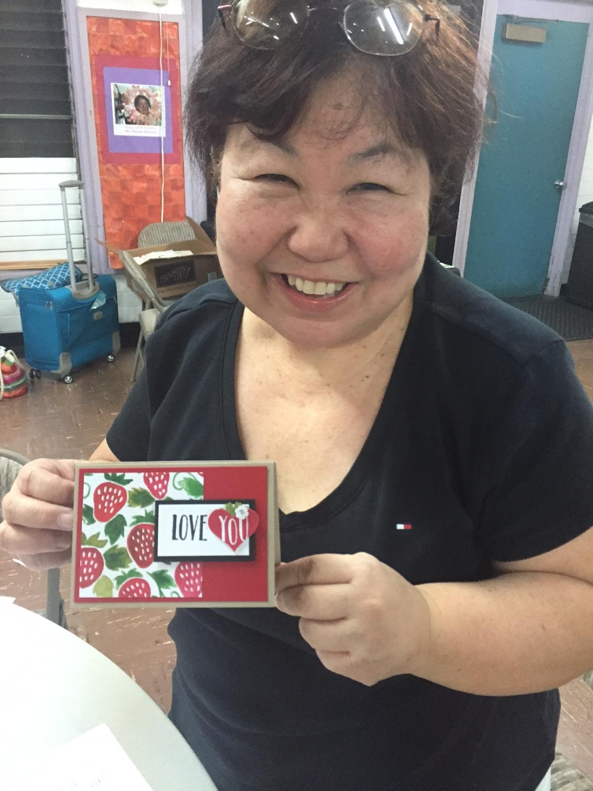 Stamped With Aloha Inspiration Night - www.stampedwithaloha.com