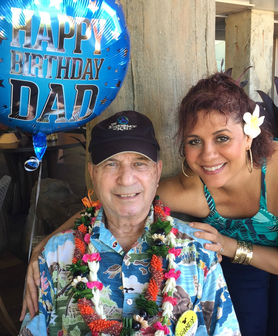 Dad and I - www.stampedwithaloha.com