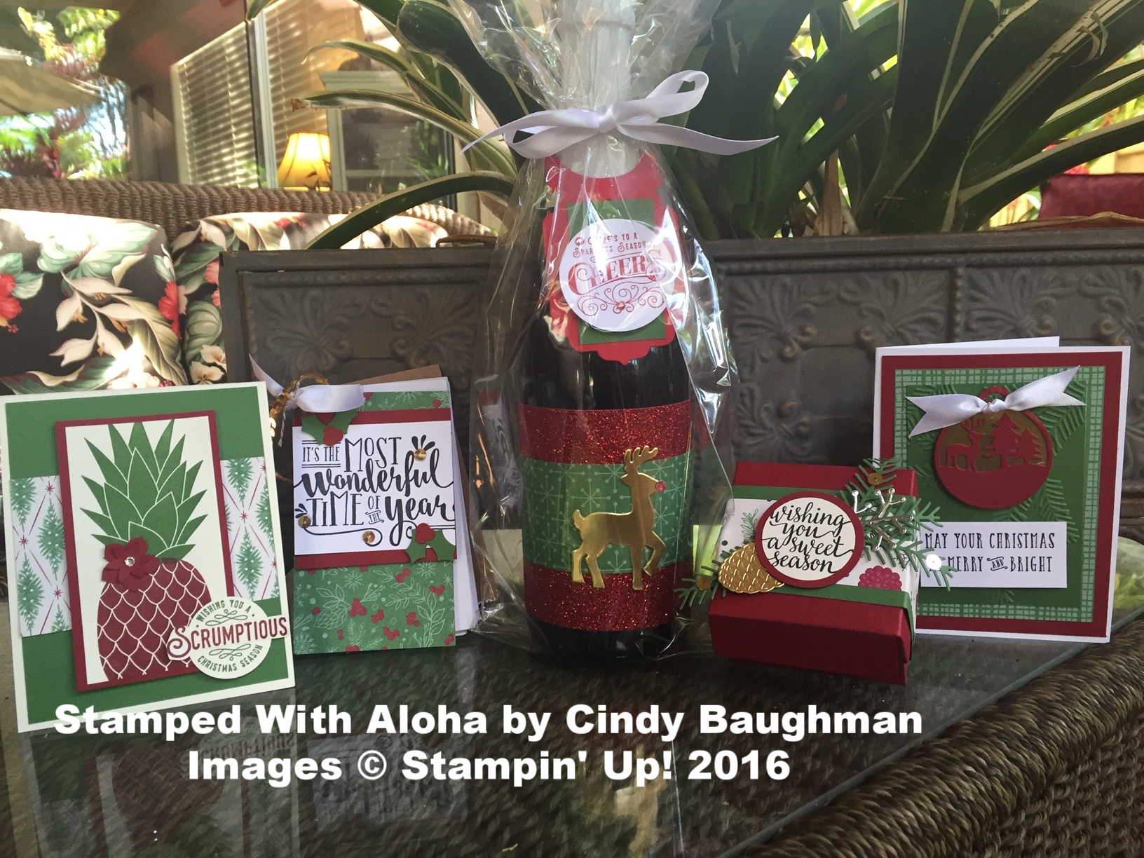Stamp Camp Projects October 2016 - www.stampedwithaloha.com