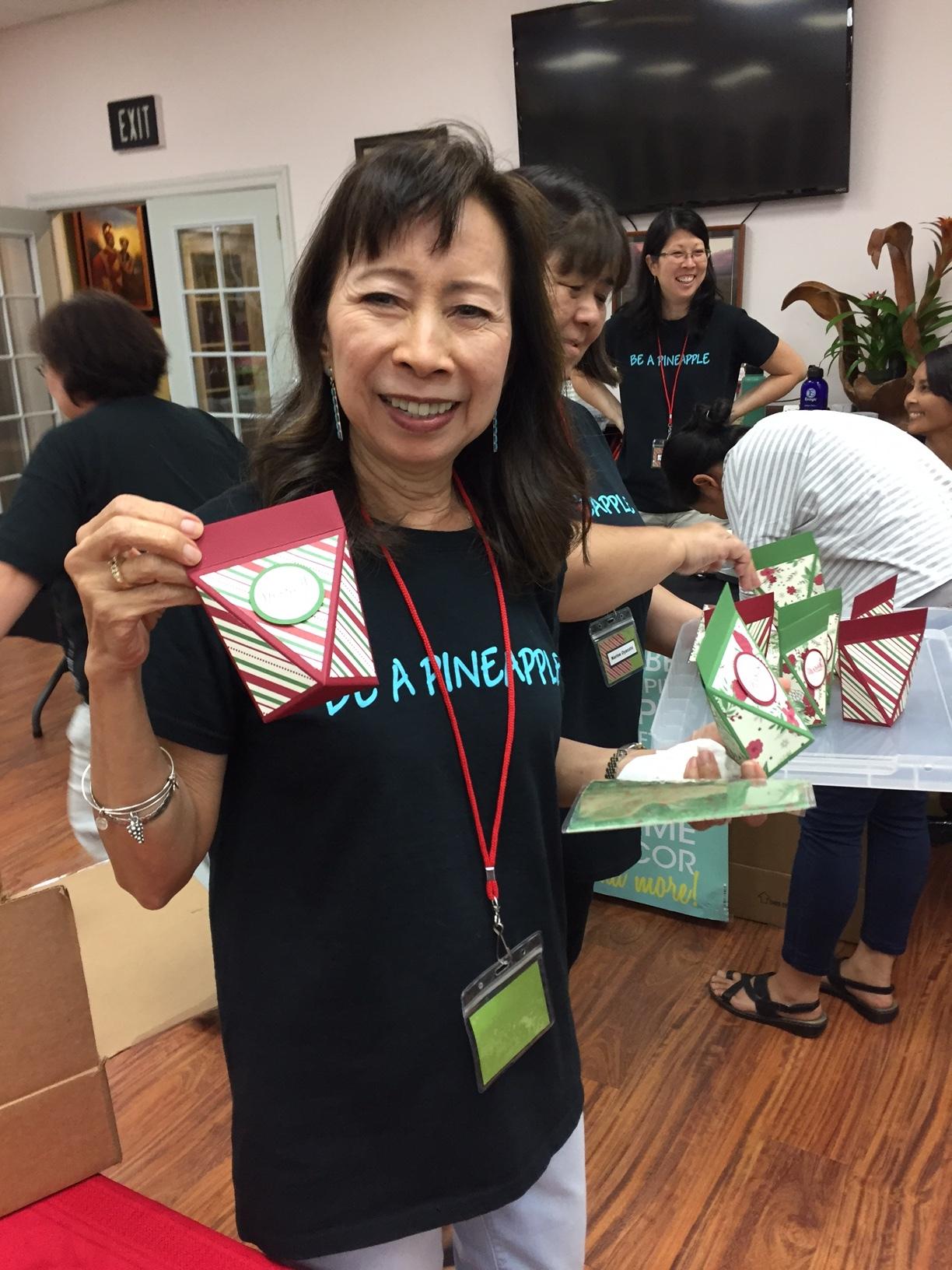 Zeny shares her prize patrol box - www.stampedwithaloha.com