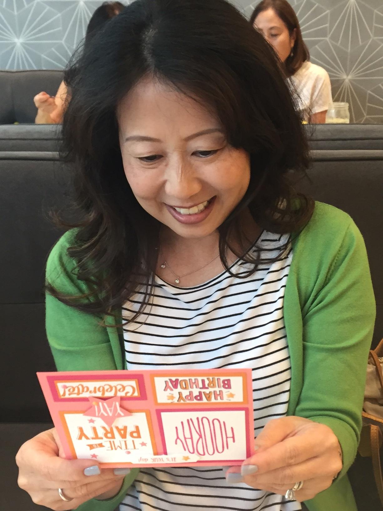 Lynne's Birthday - www.stampedwithaloha.com