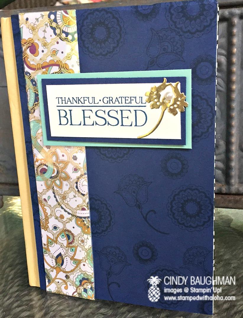 Gratitude Journal - www.stampedwithaloha.com