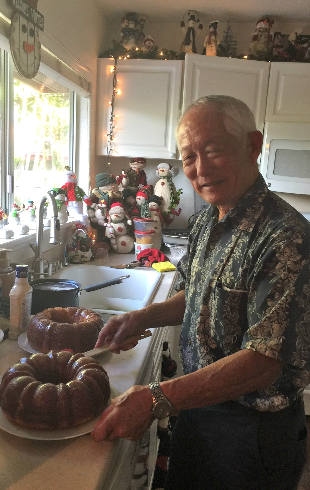 Craig in the kitchen - www.stampedwithaloha.com