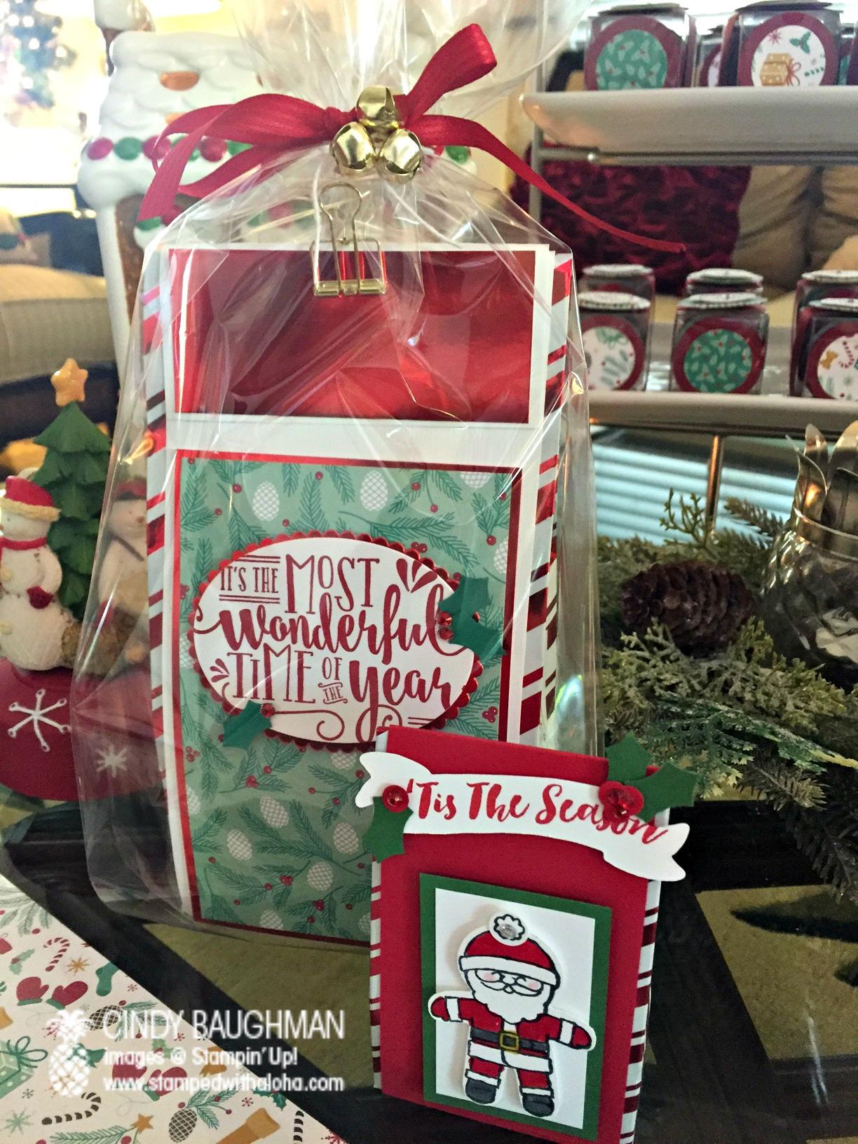 Peppermint Bark Wraps - www.stampedwithaloha.com
